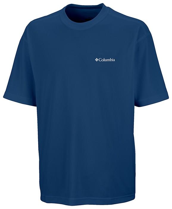 Camiseta Sun Basic M/C Masculina - Columbia - Cor Carbon
