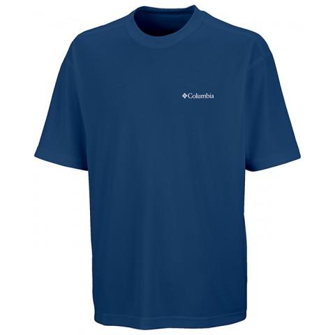 Camiseta Sun Basic UV M/C Masculina - Columbia - Cor Carbon