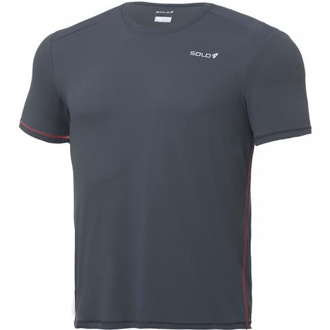 Camiseta Ion UV M/C masculina - Cor Granite - SOLO
