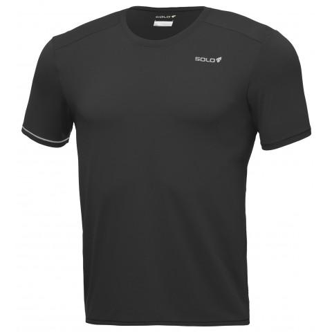 Camiseta Ion UV M/C masculina - Cor Preto - SOLO