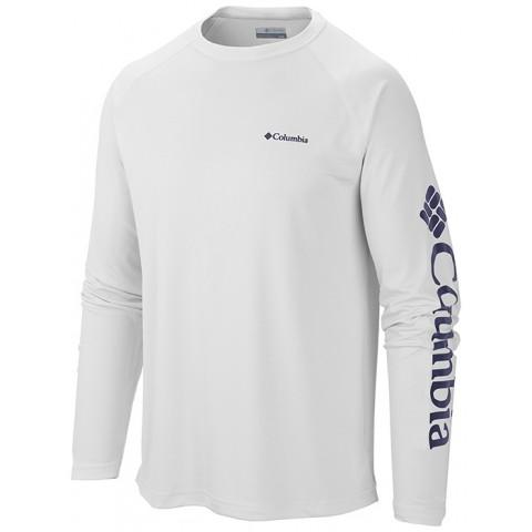 Camiseta Masculina Manga Longa - LOGO UV - Columbia